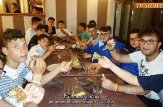 Aragona Calcio festa di fine stagione per i ragazzi categoria Giovanissimi.