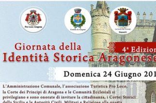 Quarta Edizione della Giornata della Identità Storica Aragonese. Domenica 24 Giugno.
