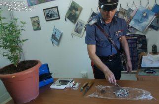 In manette un giovane di Castrofilippo sorpreso con  numerose dosi di Hashish