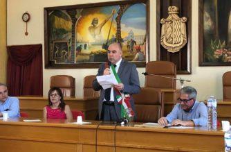 Insediamento del Sindaco di Grotte, Alfonso Provvidenza e proclamazione del Consiglio Comunale.