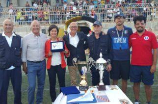 Calcio giovanile Scuole di calcio a confronto una bellissima manifestazione organizzata dalla Arcobaleno Favara. Assegnato il XV Trofeo Fair Play Pietro Paolo Brucato.