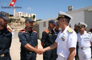 Il Comandante Generale incontra gli equipaggi della Guardia Costiera di Lampedusa