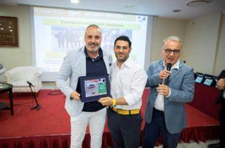 """Calcio alla kermesse del calcio giovanile """"La Sicilia Gol Awards"""" riconoscimenti per la Delegazione Figc di Agrigento e per il Canicattì Juniores."""
