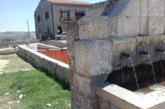 Degrado della fontana di Novi Cannola