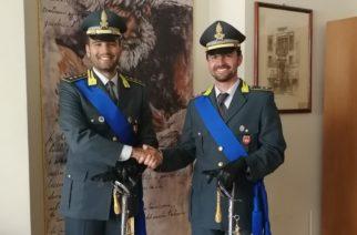 Avvicendamento al comando  della tenenza della Guardia di Finanza di Canicatti'