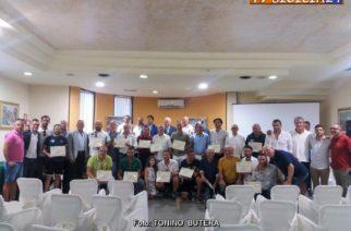 Galà degli allenatori agrigentini si è svolta la prima edizione. Soddisfatto il presidente Lillo Capraro.