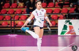 Martina Marangon è il nuovo libero della SEAP Pallavolo Aragona