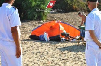 Controlli della Capitaneria di Porto nelle coste dell'agrigentino