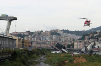 Viadotto Morandi di Genova. Tra le vittime anche un uomo di Grotte. Si mobilità la classe politica per il viadotto di Agrigento.