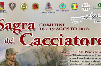 Prima Sagra del Cacciatore, il 18 e 19 agosto a Comitini